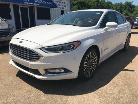 2018 Ford Fusion Hybrid for sale at Discount Auto Company in Houston TX