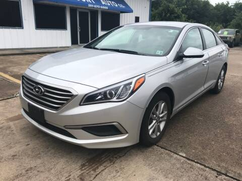 2017 Hyundai Sonata for sale at Discount Auto Company in Houston TX