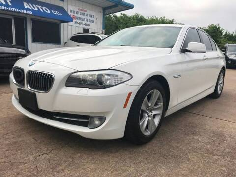 2013 BMW 5 Series for sale at Discount Auto Company in Houston TX