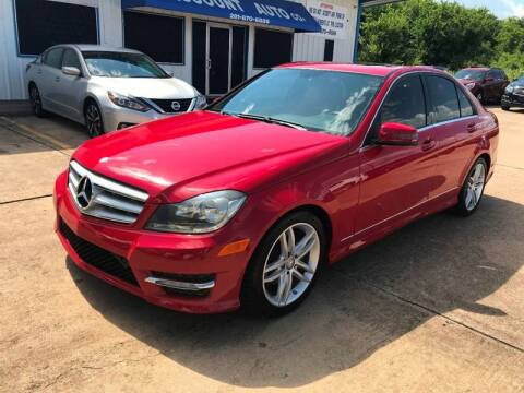 2013 Mercedes-Benz C-Class for sale at Discount Auto Company in Houston TX