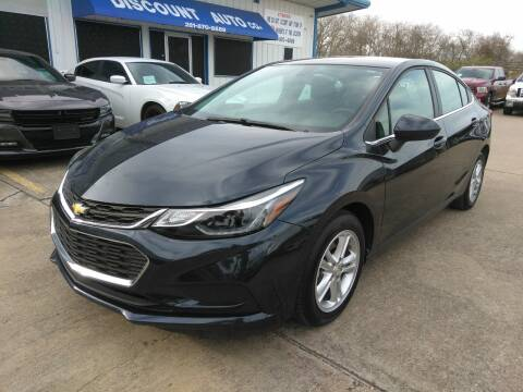 2017 Chevrolet Cruze for sale at Discount Auto Company in Houston TX