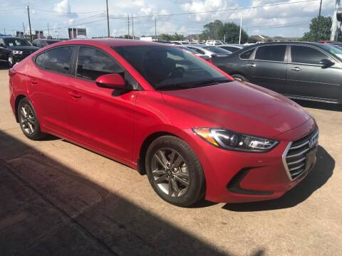 2018 Hyundai Elantra for sale at Discount Auto Company in Houston TX