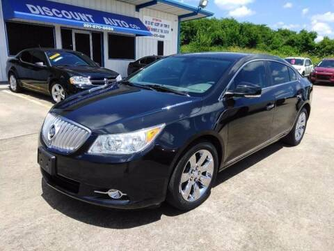 2012 Buick LaCrosse for sale at Discount Auto Company in Houston TX