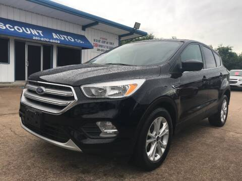 2017 Ford Escape for sale at Discount Auto Company in Houston TX