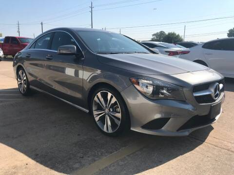 2016 Mercedes-Benz CLA for sale at Discount Auto Company in Houston TX