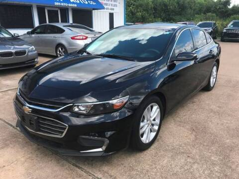 2016 Chevrolet Malibu for sale at Discount Auto Company in Houston TX
