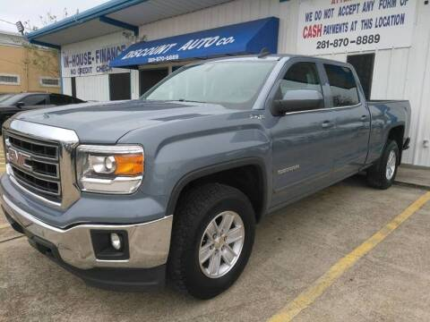 2015 GMC Sierra 1500 for sale at Discount Auto Company in Houston TX