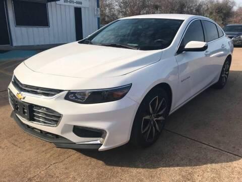 2018 Chevrolet Malibu for sale at Discount Auto Company in Houston TX