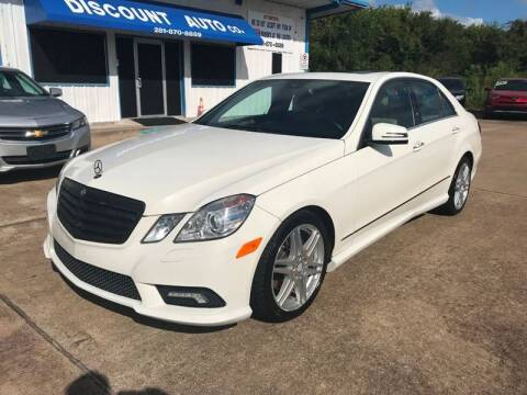 2010 Mercedes-Benz E-Class for sale at Discount Auto Company in Houston TX