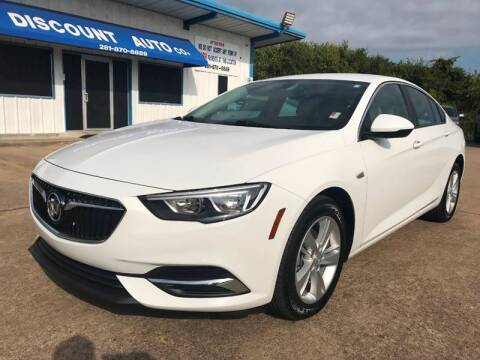 2018 Buick Regal Sportback for sale at Discount Auto Company in Houston TX