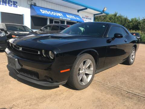 2016 Dodge Challenger for sale at Discount Auto Company in Houston TX