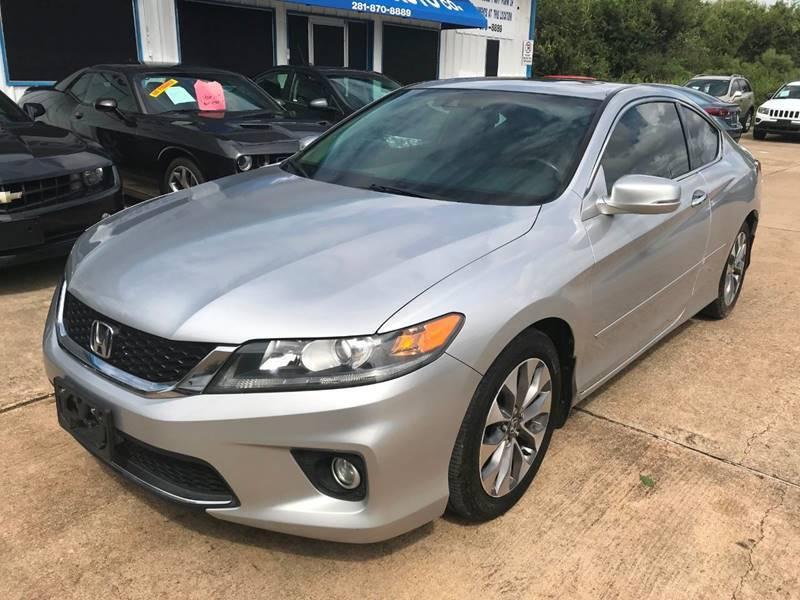 2014 Honda Accord for sale at Discount Auto Company in Houston TX
