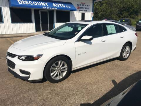2018 Chevrolet Malibu for sale at Discount Auto Company in Houston TX
