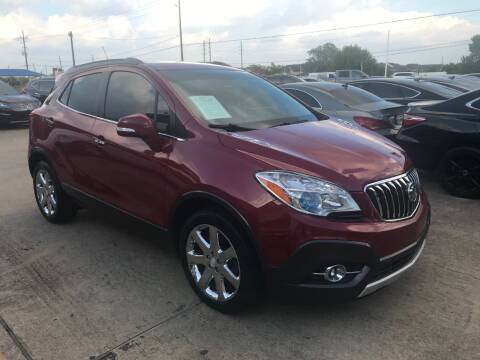 2014 Buick Encore for sale at Discount Auto Company in Houston TX