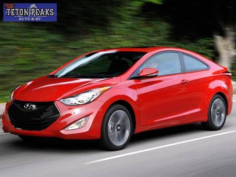 2013 Hyundai Elantra Coupe for sale in Idaho Falls, ID