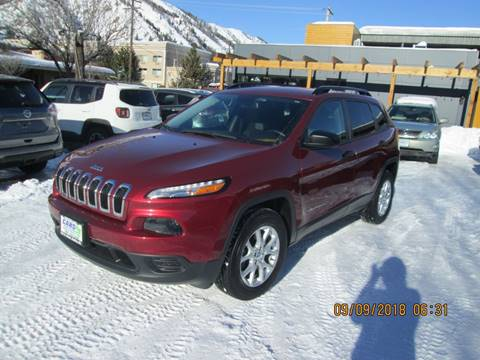 2016 Jeep Cherokee for sale in Hailey, ID