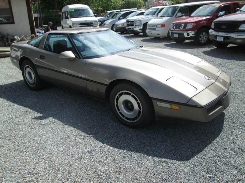 1985 Chevrolet Corvette 2dr Hatchback - Hailey ID