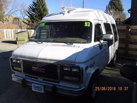 1993 GMC Vandura for sale in Hailey, ID