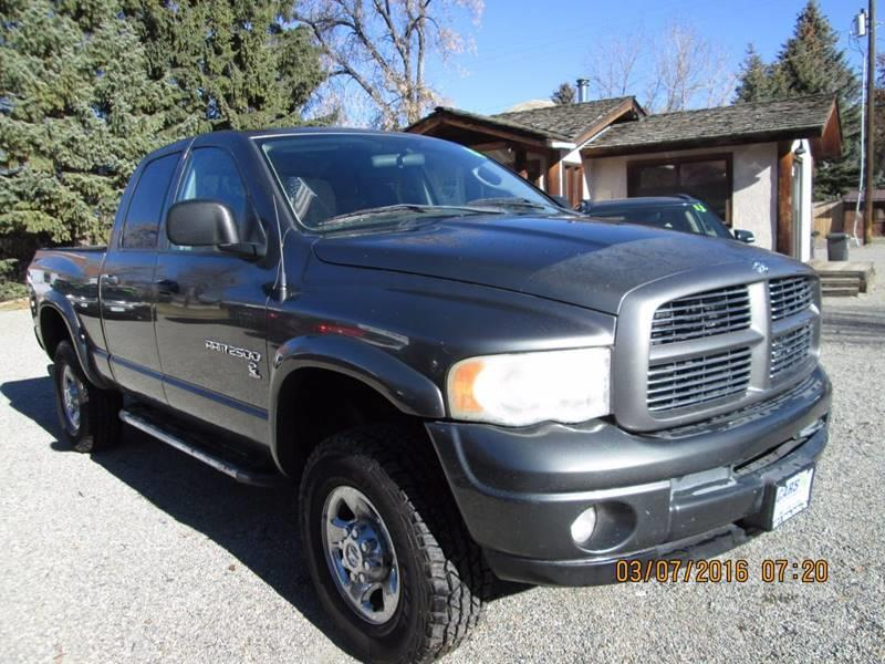 2003 Dodge Ram Pickup 2500 4dr Quad Cab SLT 4WD SB - Hailey ID