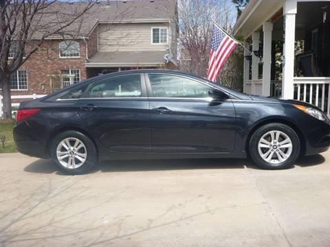 2013 Hyundai Sonata for sale at ALWAYS BEST BUY AUTOS LLC. in Aurora CO