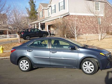 2016 Toyota Corolla for sale at ALWAYS BEST BUY AUTOS LLC. in Aurora CO