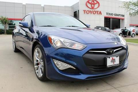 Genesis Coupe For Sale >> 2016 Hyundai Genesis Coupe For Sale In Grapevine Tx
