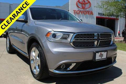 2015 Dodge Durango for sale in Grapevine, TX