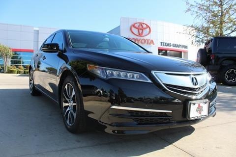 2016 Acura TLX for sale in Grapevine, TX