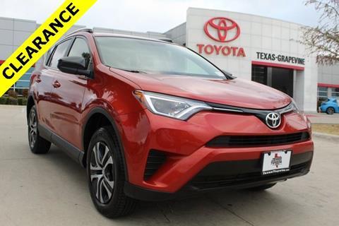 2016 Toyota RAV4 for sale in Grapevine, TX