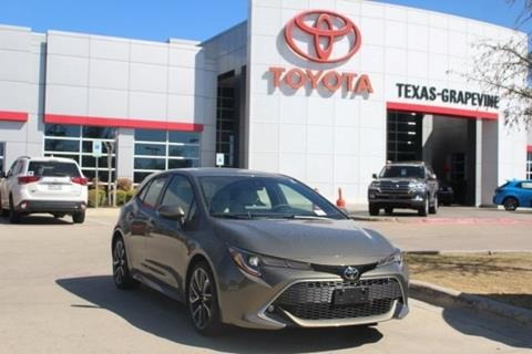 2019 Toyota Corolla Hatchback for sale in Grapevine, TX
