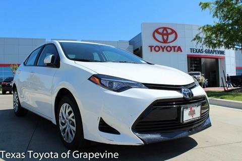 2017 Toyota Corolla for sale in Grapevine, TX