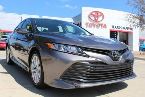 2019 Toyota Camry LE for sale at TEXAS TOYOTA OF GRAPEVINE in Grapevine TX