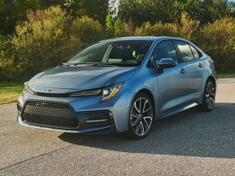 2020 Toyota Corolla SE for sale at TEXAS TOYOTA OF GRAPEVINE in Grapevine TX