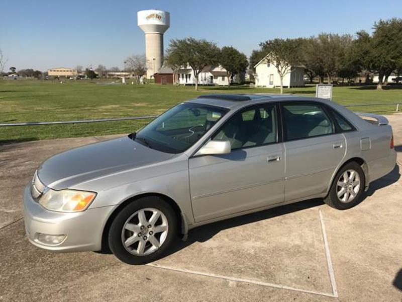 2001 Toyota Avalon XLS 4dr Sedan W/Bucket Seats   Baytown TX