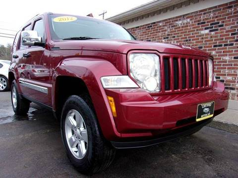 2012 Jeep Liberty for sale in Franklin, NH
