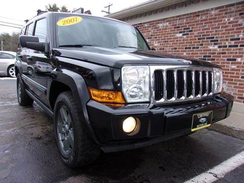 2007 Jeep Commander for sale in Franklin, NH