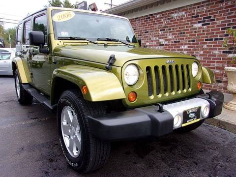 2008 Jeep Wrangler Unlimited for sale in Franklin, NH