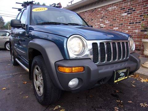 2004 Jeep Liberty for sale in Franklin, NH