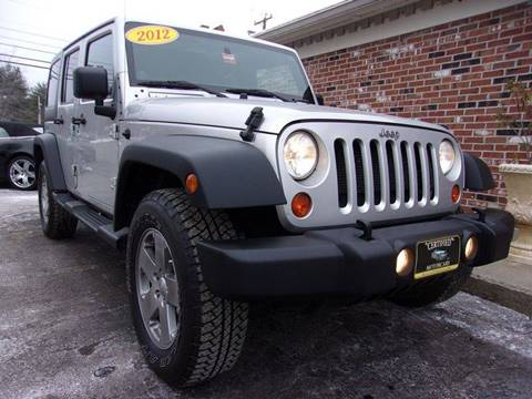 2012 Jeep Wrangler Unlimited for sale in Franklin, NH