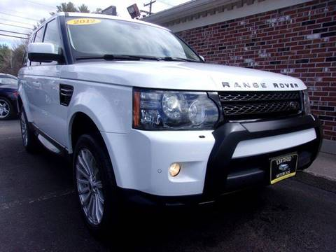 2012 Land Rover Range Rover Sport for sale in Franklin, NH