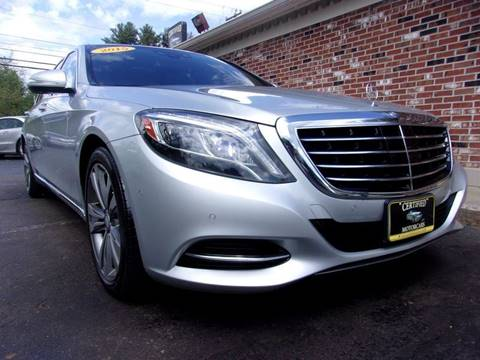2015 Mercedes-Benz S-Class for sale in Franklin, NH