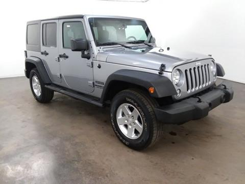 2016 Jeep Wrangler Unlimited for sale in Brandon, MS
