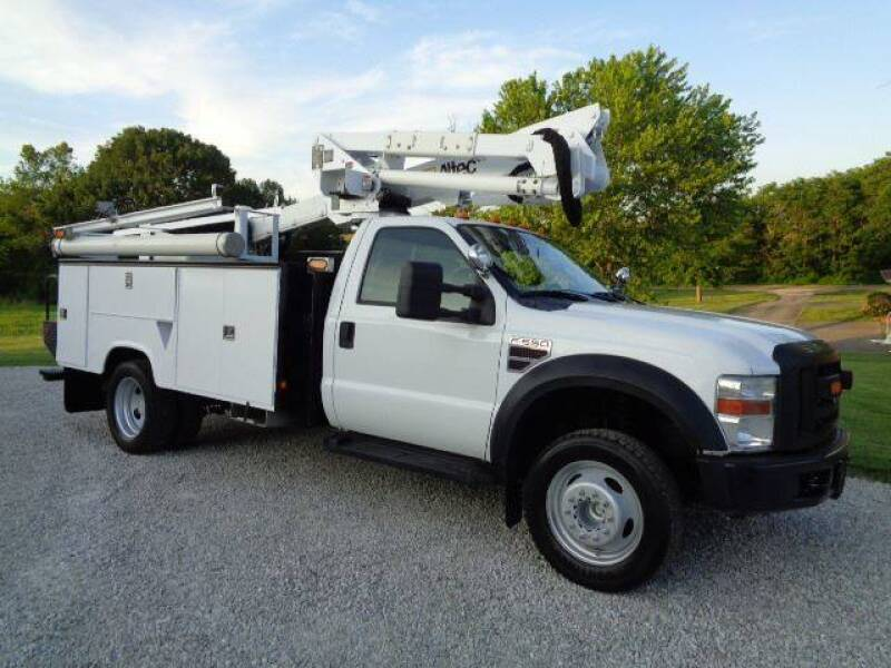 2009 Ford F-550 for sale at Busch Motors in Washington MO