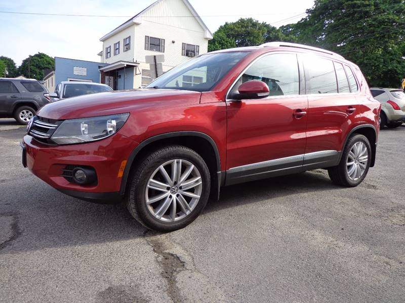 2014 Volkswagen Tiguan AWD SE 4Motion 4dr SUV w/Appearance - Portland ME
