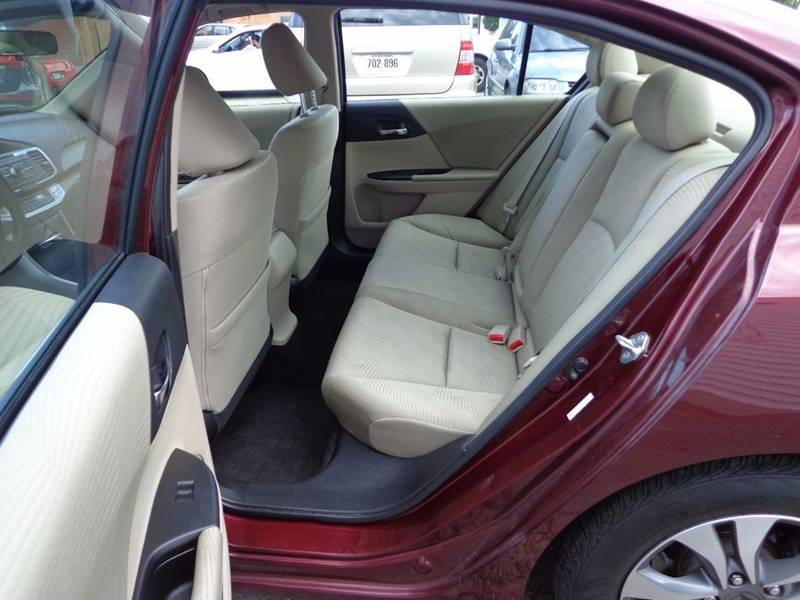 2014 Honda Accord LX 4dr Sedan CVT - Portland ME