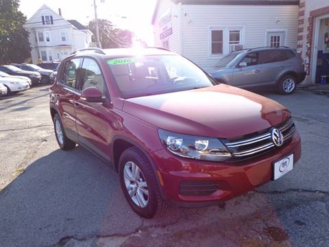 2016 Volkswagen Tiguan for sale in Portland, ME