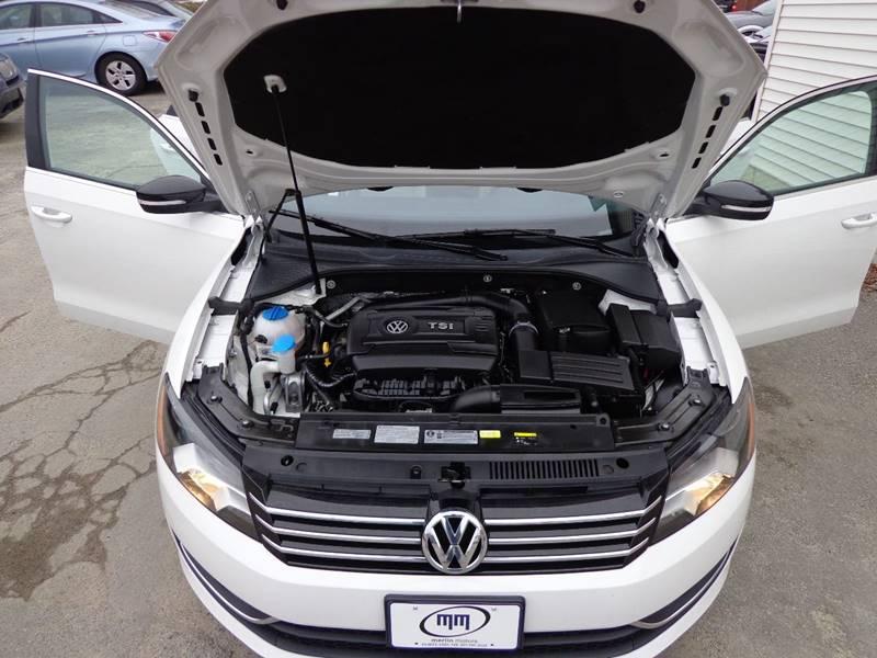 2015 Volkswagen Passat Sport PZEV 4dr Sedan 6A - Portland ME