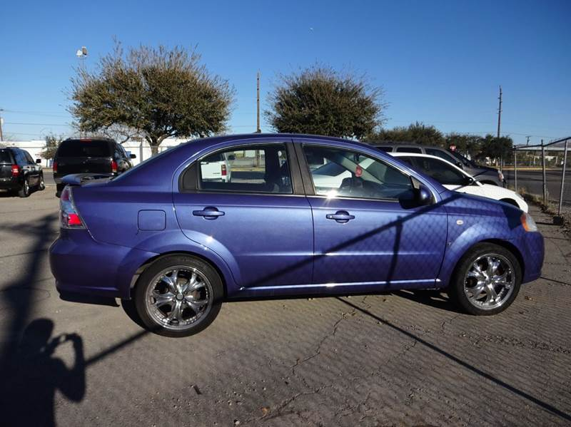 Used Cars in Henderson 2008 Chevrolet Aveo