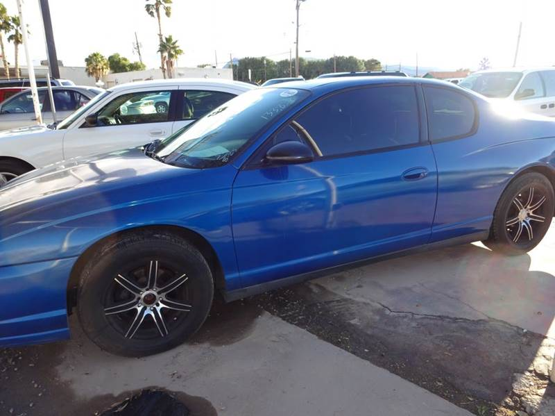 Used Cars in Henderson 2005 Chevrolet Monte Carlo