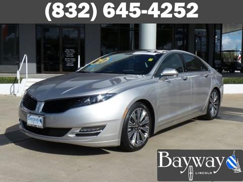 2016 Lincoln MKZ for sale in Houston, TX